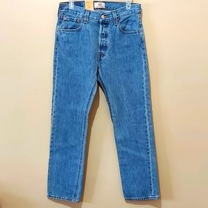 NWT Levi's 501 Buttonfly Jeans